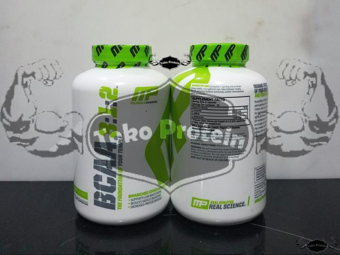 ECERAN MP BCAA 3:1:2 240 Capsule Muscle
