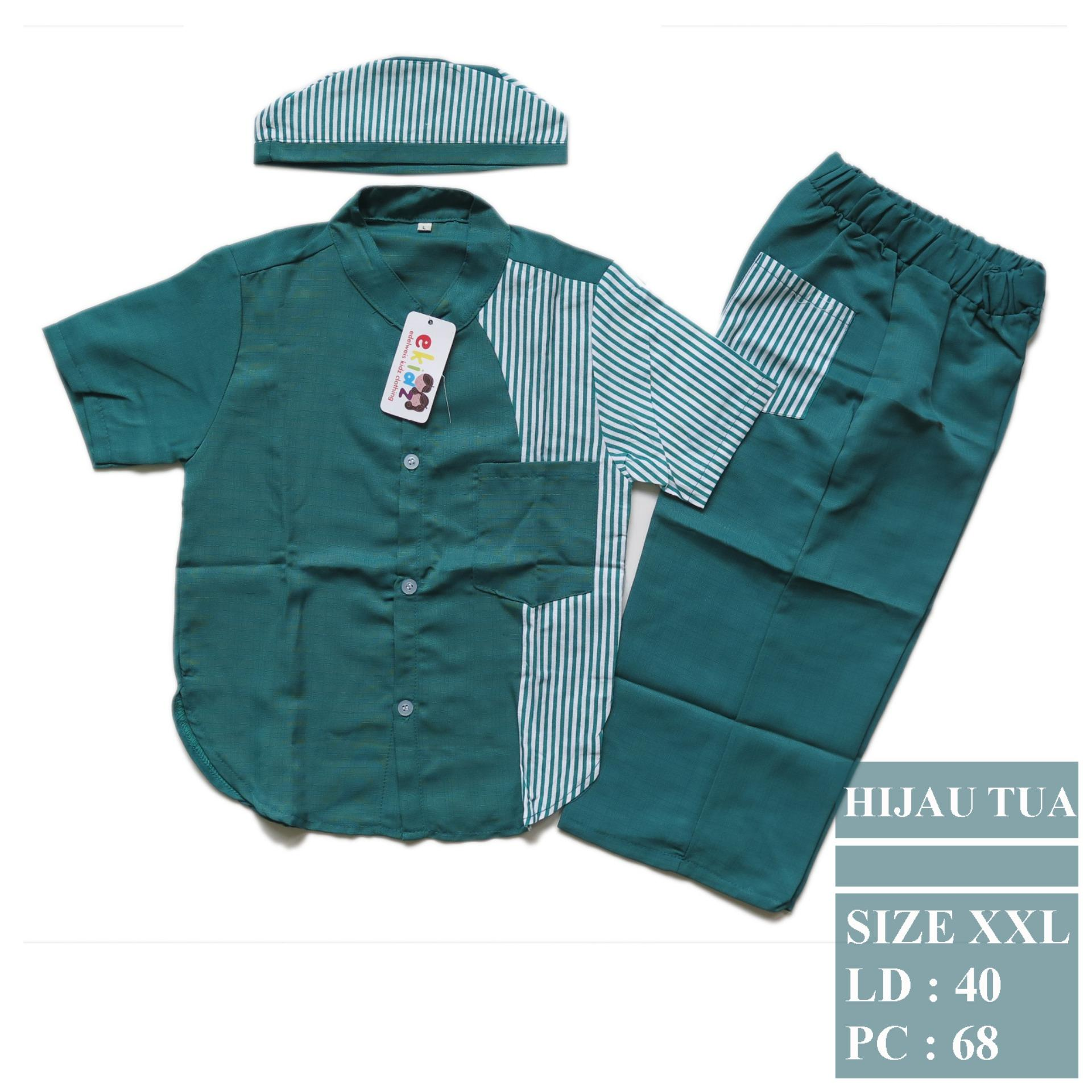 Baju koko dan Peci untuk umur 1-9 thn