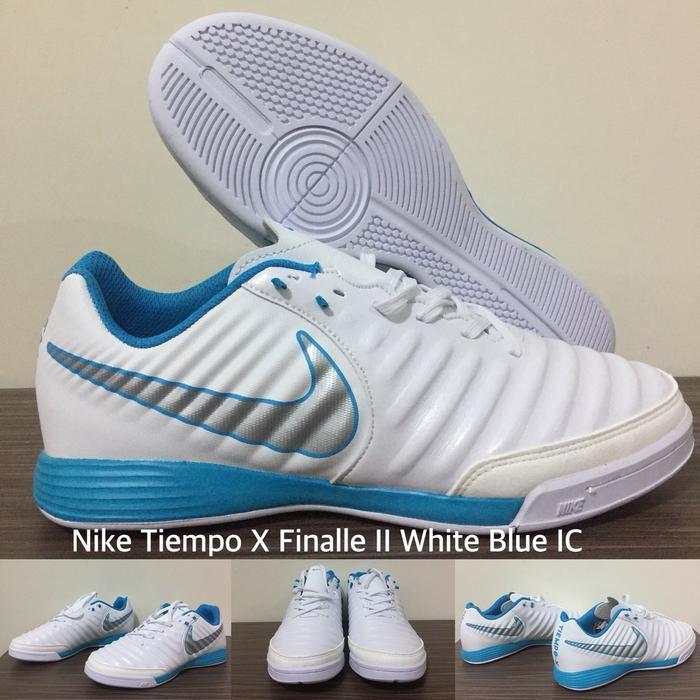 bcc744c17 shopping jual sepatu futsal nike tiempo legend 3ab4d 08107  spain sepatu  futsal nike tiempo x finalle ii white blue ic 2bb2c c1875