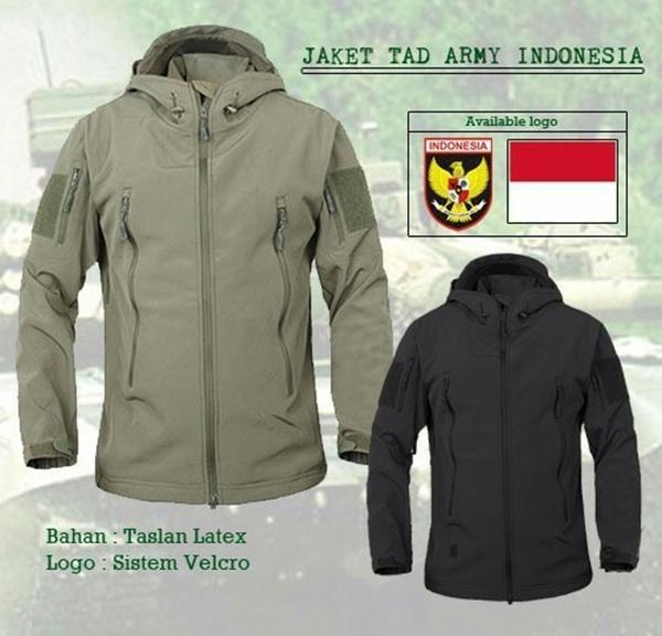 Jaket Tactical TAD BEST SELLER TERMURAH logo INDONESIA GARUDA