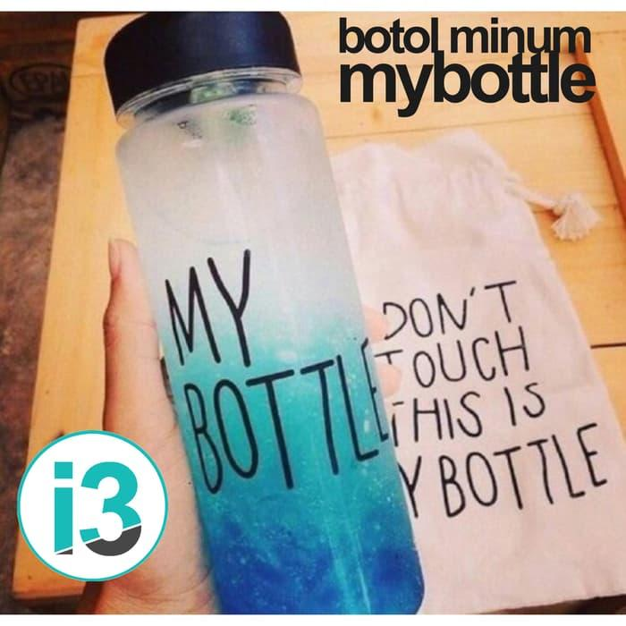 HARGA PROMO!!! Botol Minum / Minuman Plastik Bening My Bottle / Mybottle 500ml Murah - 5tfuib