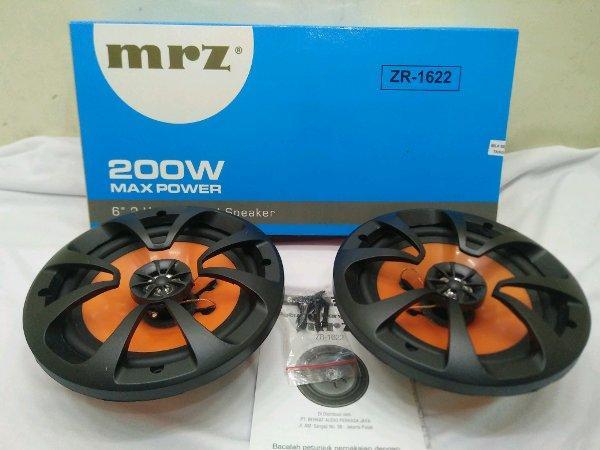 Car Audio Mobil Speaker Coaxial MRZ ZR-1622 ZR - 1622 JEC JS-608 JS - 608 2 Way 6 inch Termurah Surabaya Semarang Jakarta