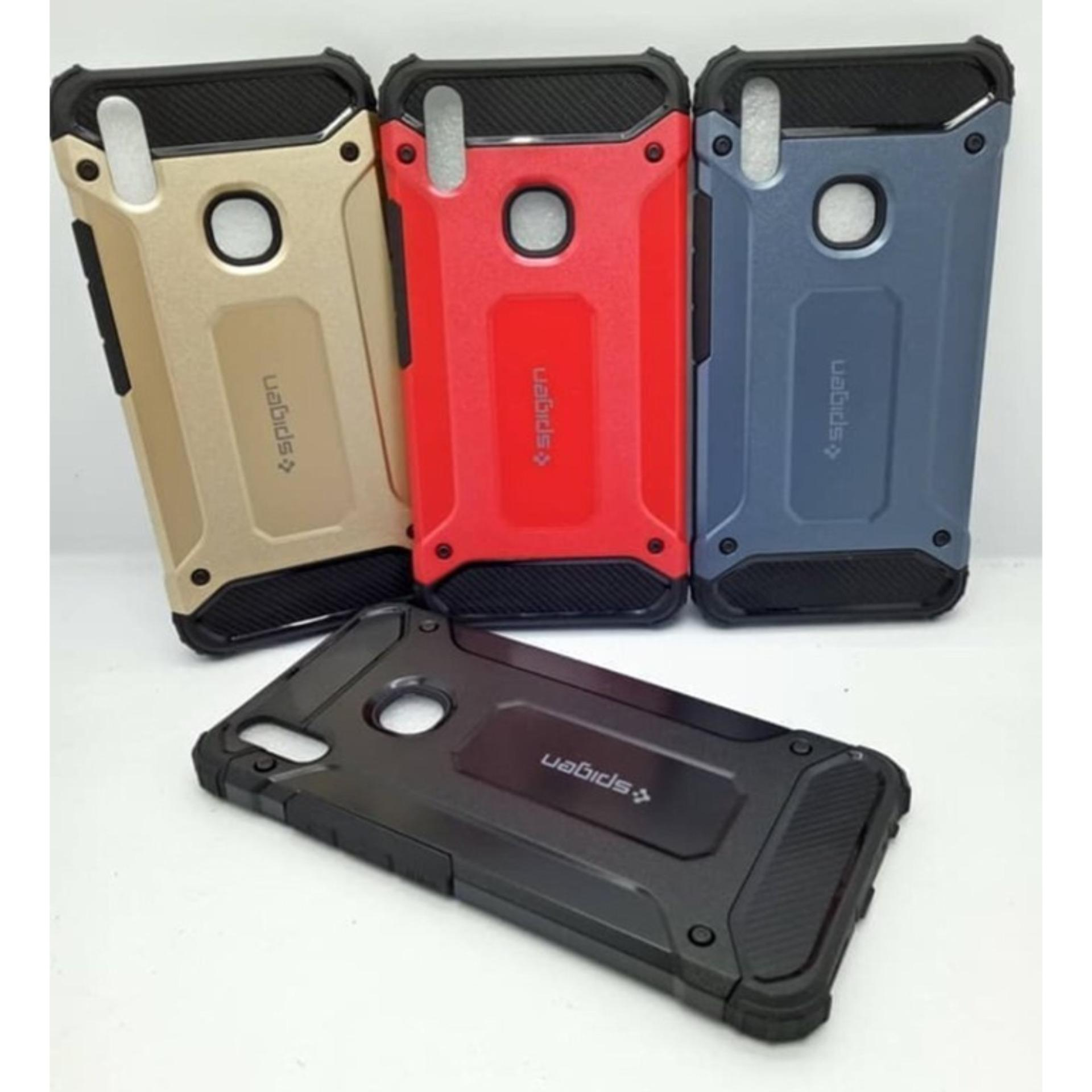 Buy Sell Cheapest Vivo V9 Red Best Quality Product Deals Black Gold Case Hard Cover Robot Shockproof Armor For