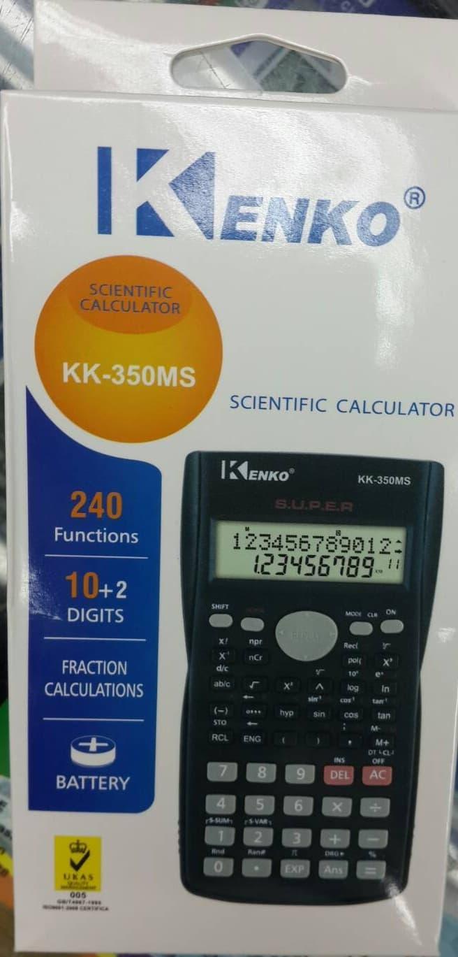 DISKON Kalkulator Scientific Kenko KK-350MS TERMURAH