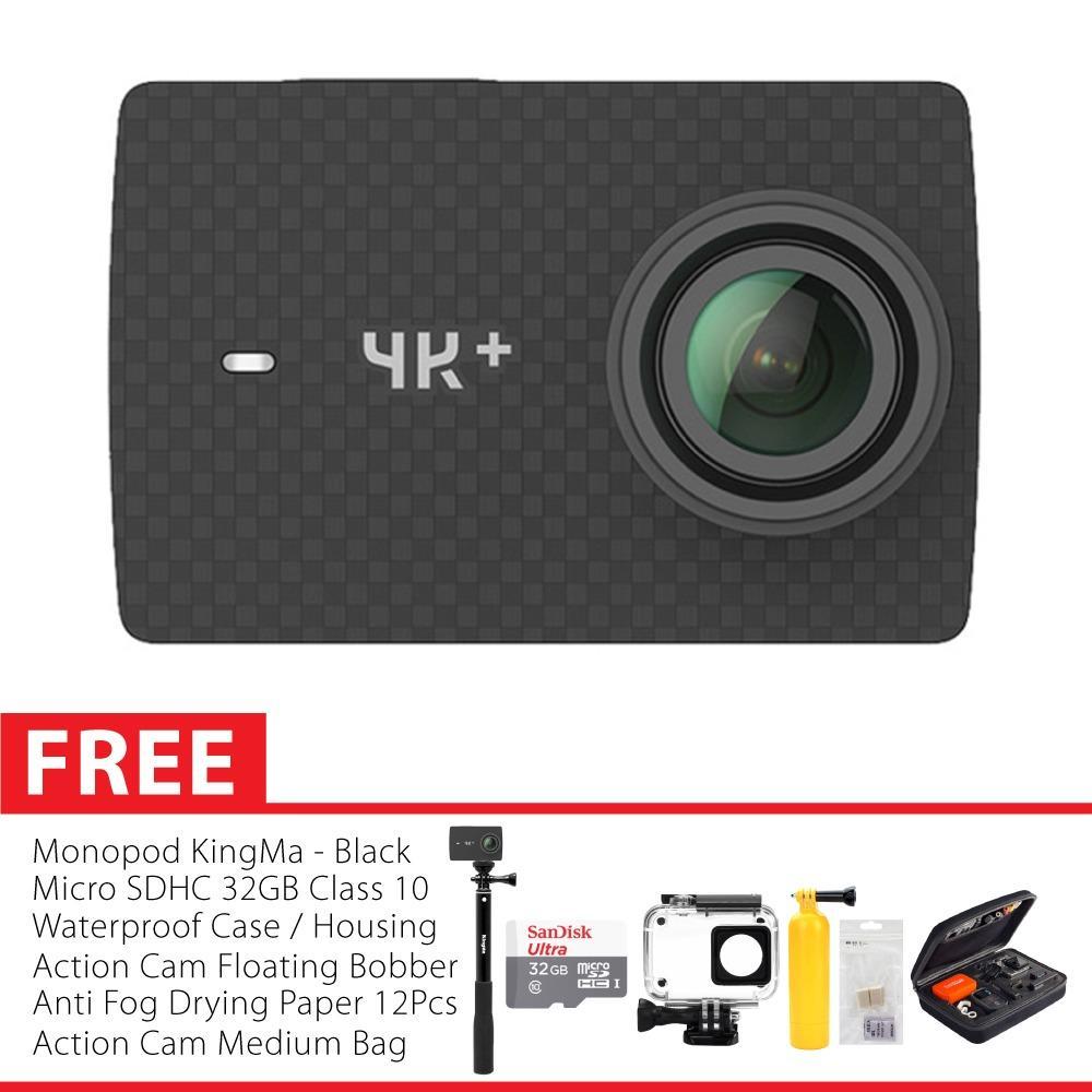 Xiaomi Yi 4K PLUS / Yi4K+ International Version Combo Paket Hemat Action Camera