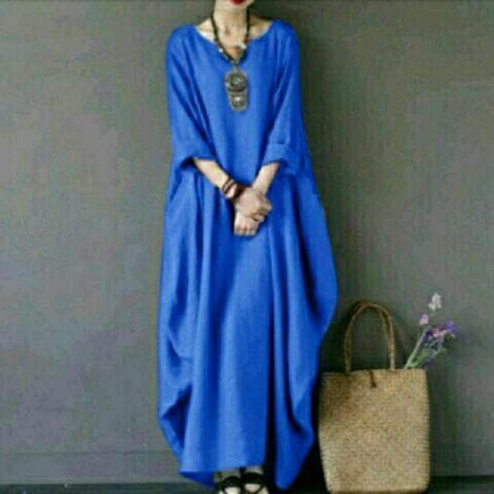 Sale baju tanah abang! Blouse muslim tunik long febriana benhur taji