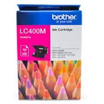 BROTHER INK CARTRIDGE LC400 MAGENTA