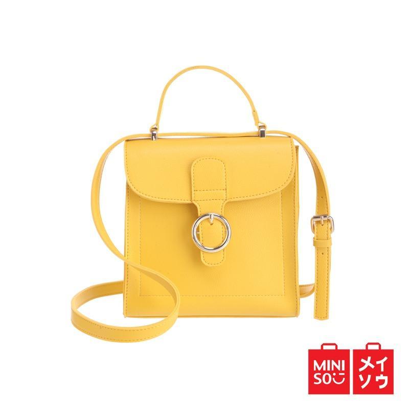 Miniso Official Solid Color Fashionable Shoulder Bag
