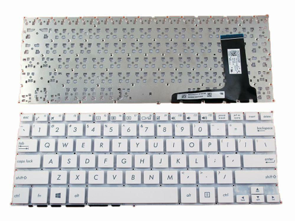 Keyboard Asus X201 X201E X202 X202E S200 S200E Q200 Q200E Putih di lapak elektroid elektroid