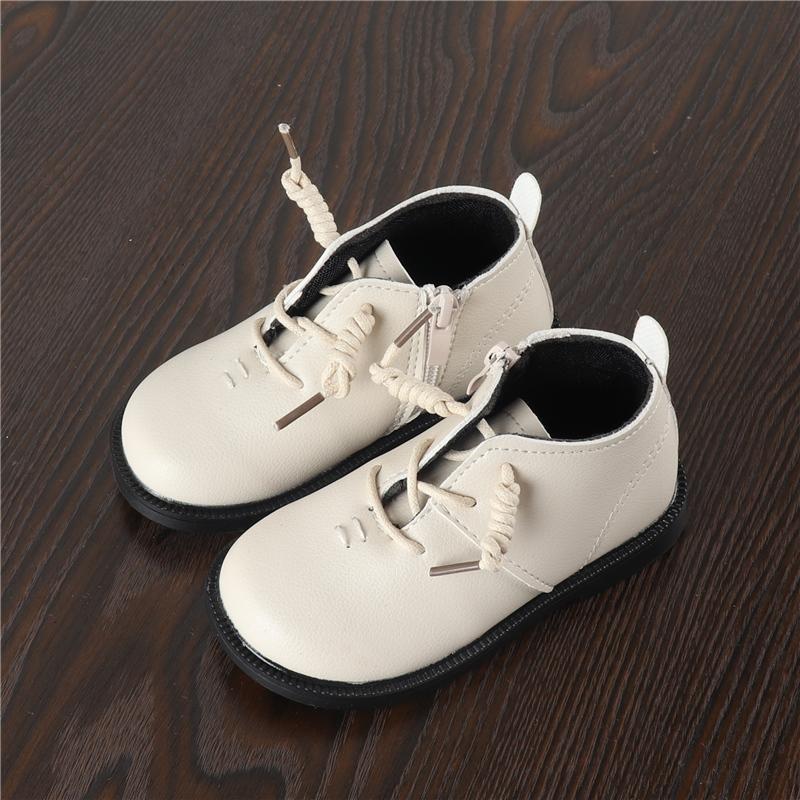 2018 Musim Semi dan Musim Gugur Model Baru Anak-anak Sepatu Kulit Anak Prempuan Sepatu