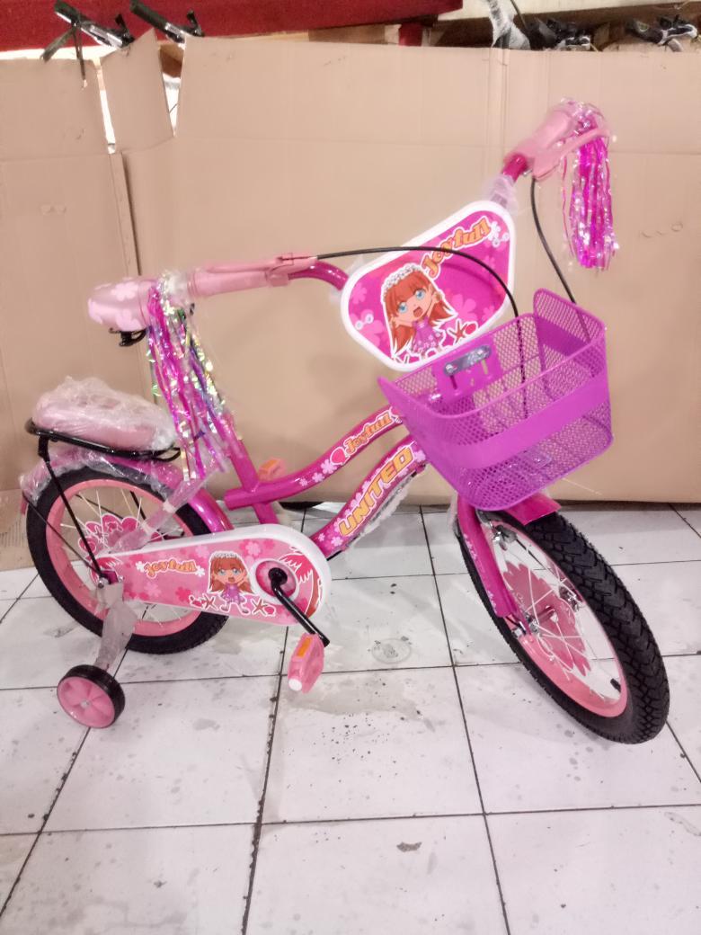 sepeda anak 16 mini united joyfull boncengan