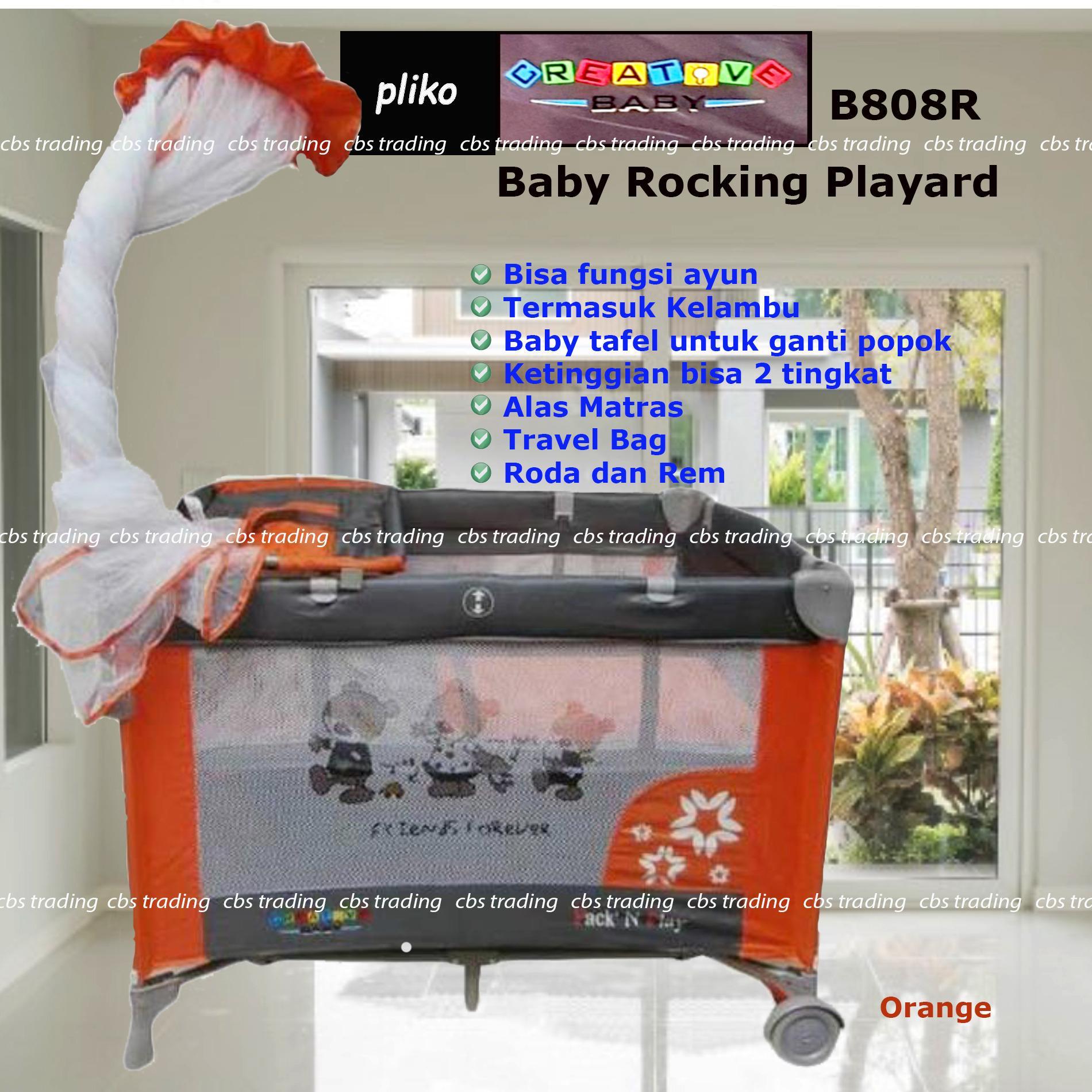 Pliko Creative Baby Rocking Playard 808