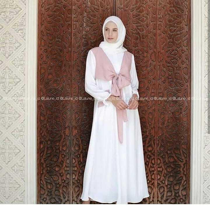 Baju Muslim Original Gamis Abi Maxi Dress Balotelly Baju Wanita Panjang  Muslim Casual Wanita Pakaian Hijab 5f6c494a1f