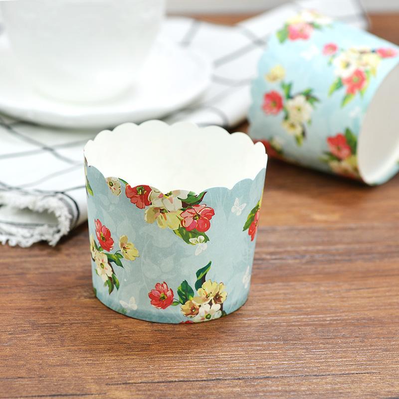 Kacang Polong Gelas Kertas Panggang Bulat Gelas Kertas Angin Kue