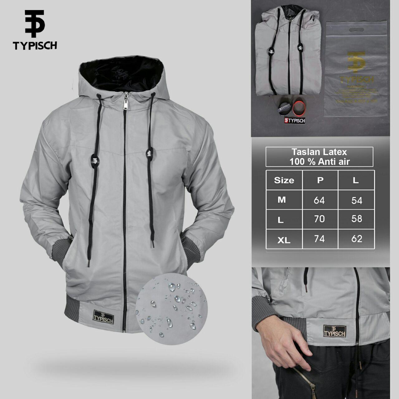 GA JAKET PARASUT WATERPROOF ORIGINAL TYPISCH ANTI AIR ANTI ANGIN KEREN