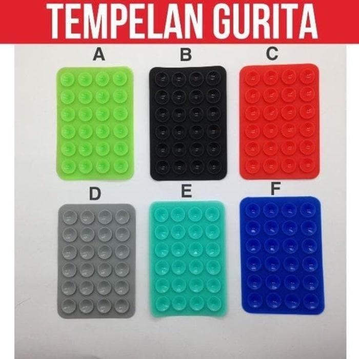 Gurita 24 Tentakel Phone Holder - Tempelan Gurita