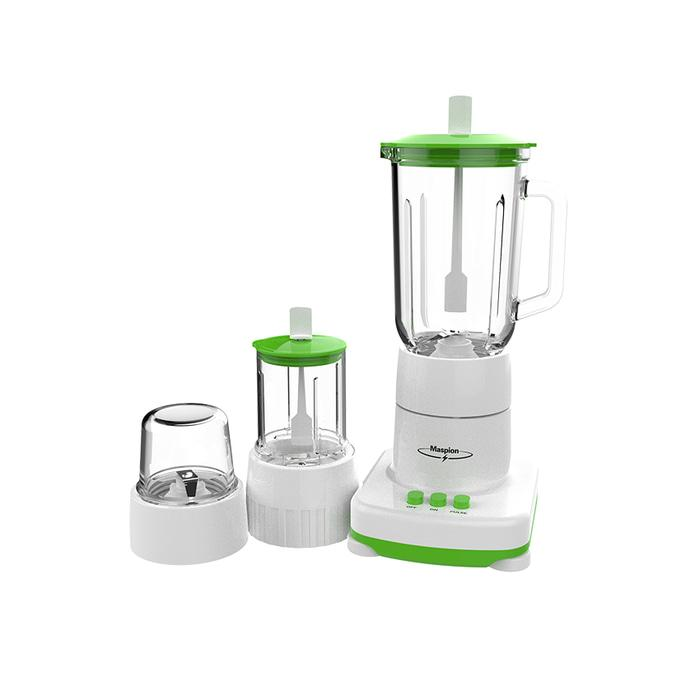 Blender Clear Glass Container (1 Liter) 3In1 Maspion MT-1214