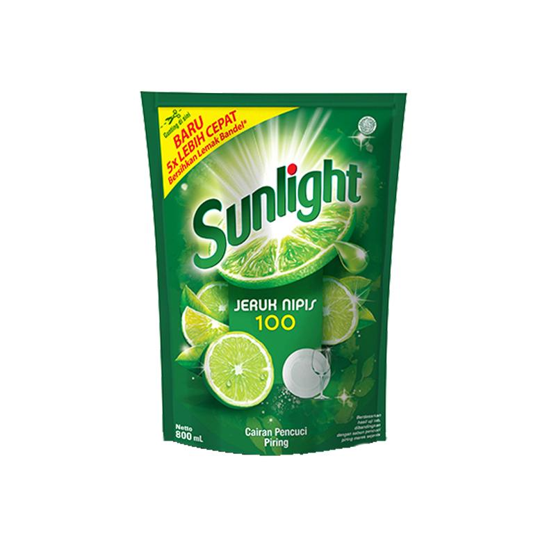 Sunlight Jeruk Nipis 780 Ml By Bhinneka Nusantara.