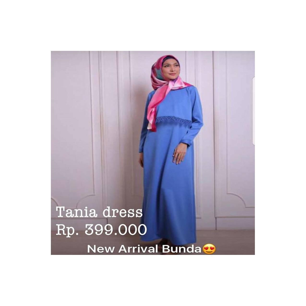 Busana Muslim Tania Dress by Zoya