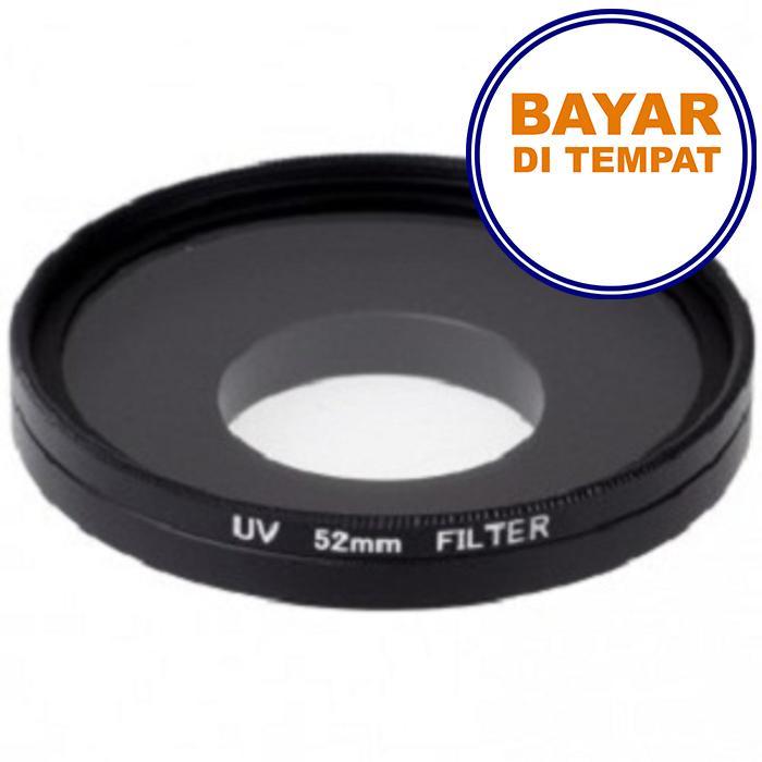 PROMO SAAT INI UV Filter Lens 52mm with Cap Pelindung Lensa Xiaomi Yi + Tutup Lensa