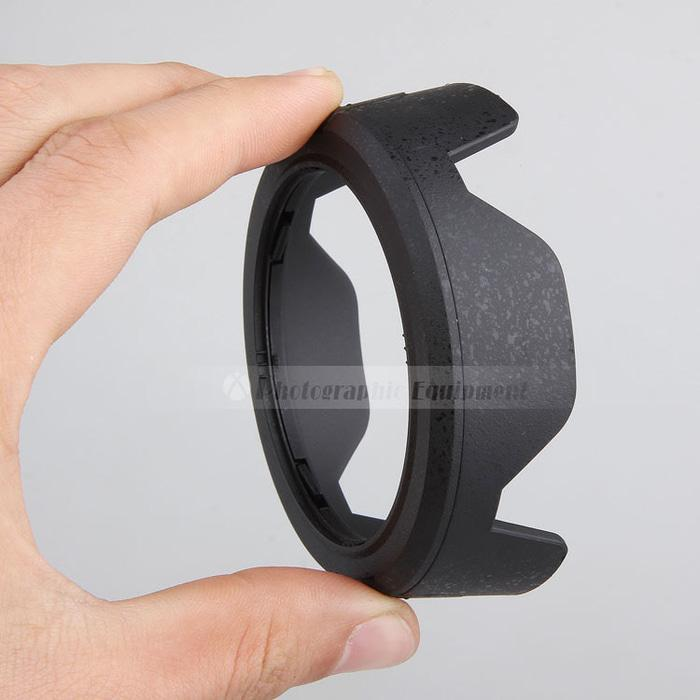 HB-45 II Lens Hood Nikon AF-S DX NIKKOR 18-55mm F/3.5-5.6G VR Black TERLARIS