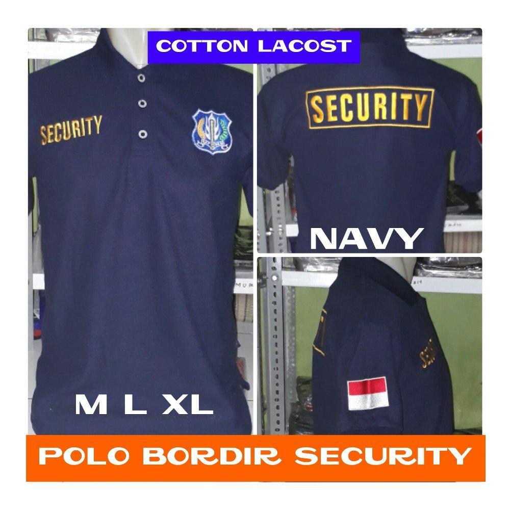 Kaos polo bordir security  di lapak Fashion depok bahrudin_tanjung