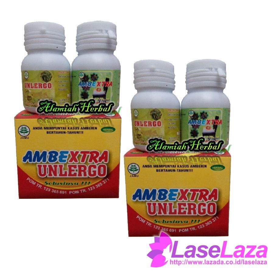 Buy Sell Cheapest Obat Wasir Paling Best Quality Product Deals Manjur Ambeien Herbal De Nature Ambextra Unlergo Ambein 2 Kotak Suplemen Makanan Laris