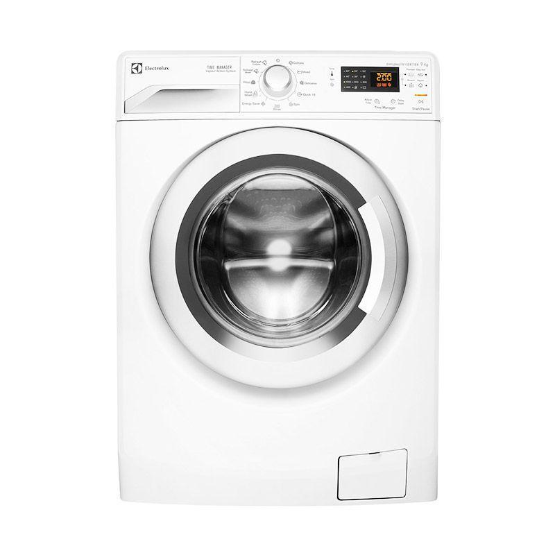 Electrolux EWW 12853 Mesin Cuci Front Loading 8.5KG Putih JADETABEK Only