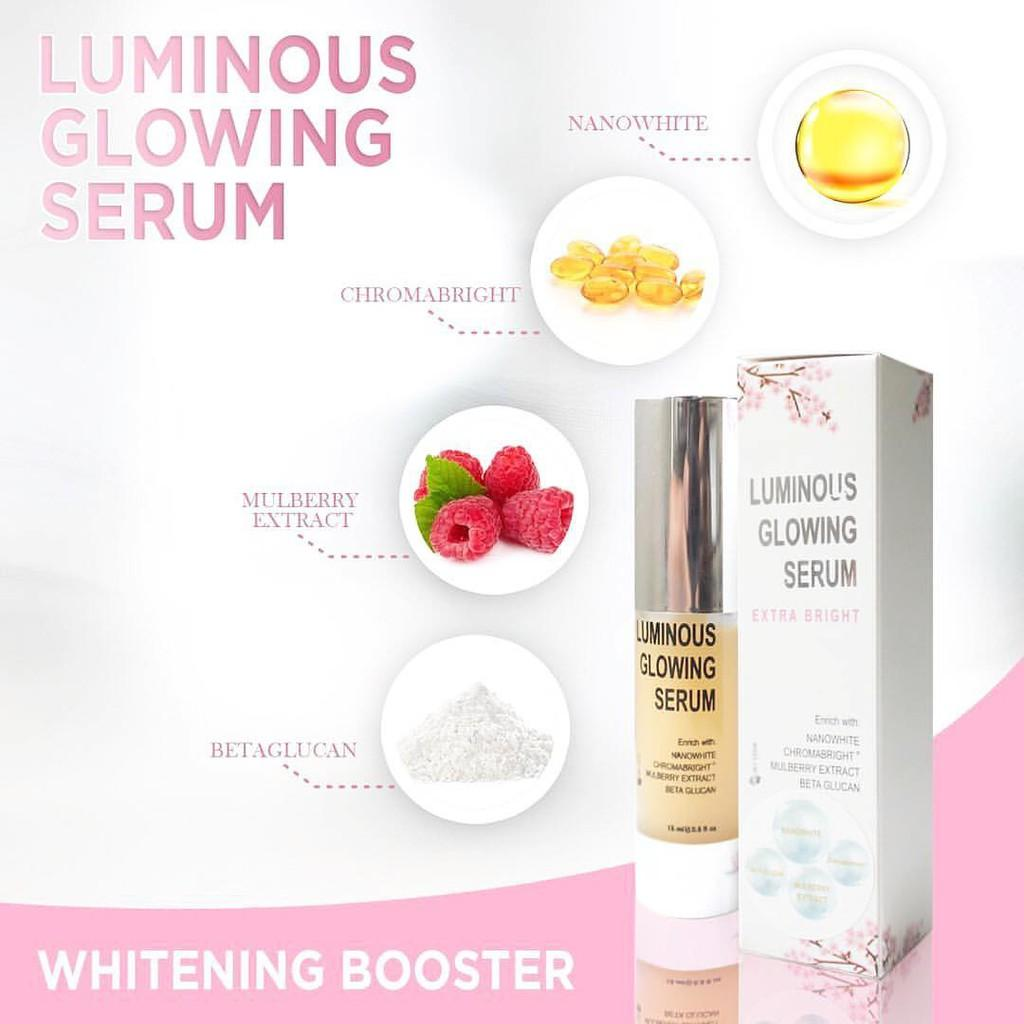 Jual Produk Ms Glow Terbaru Whitening Night Cream Krim Malam Luminous Glowing Serum Booster