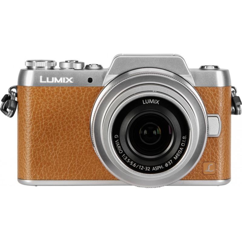 Panasonic Lumix DMC-GF7 kit 12-32mm - Brown
