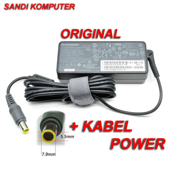 Terbaru! Adaptor Charger Lenovo Thinkpad T60 T60P T61 T61P R61I Z60 Original - ready stock