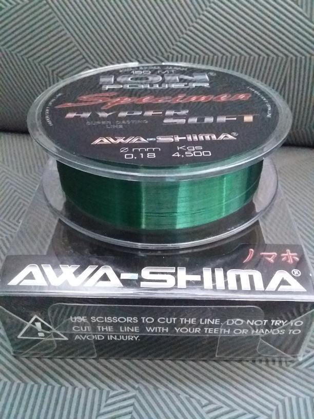 HARGA PROMO!!! Senar Pancing Awashima Ion Power Specimen Hyper Soft - aO1Bnd