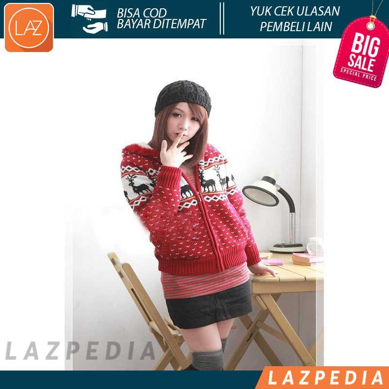 Laz COD - Topi Kupluk Wol / Winter Hat Wool Cap JTO001 Cocok Digunakan Saat Cuaca Dingin - Lazpedia A163