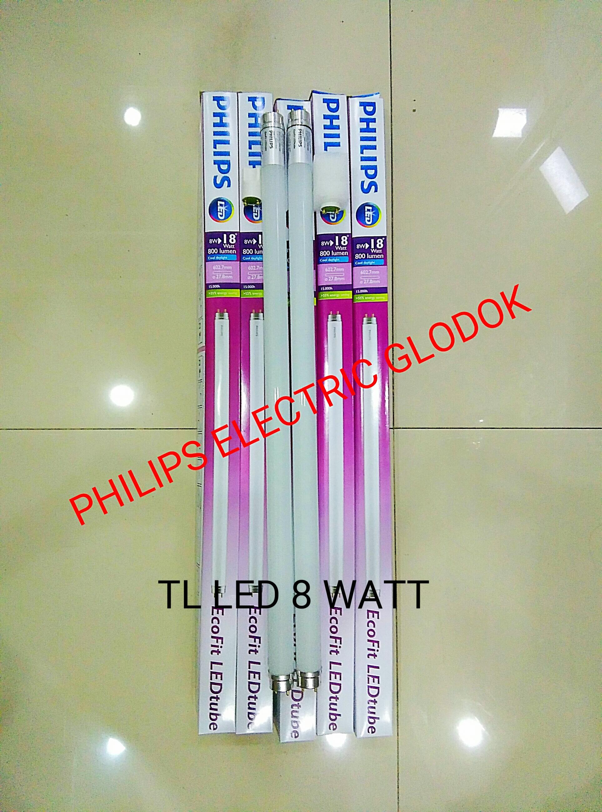 LAMPU PHILIPS TL LED 8 W / NEON TL LED 8 WATT / NEON TL LED 8 W