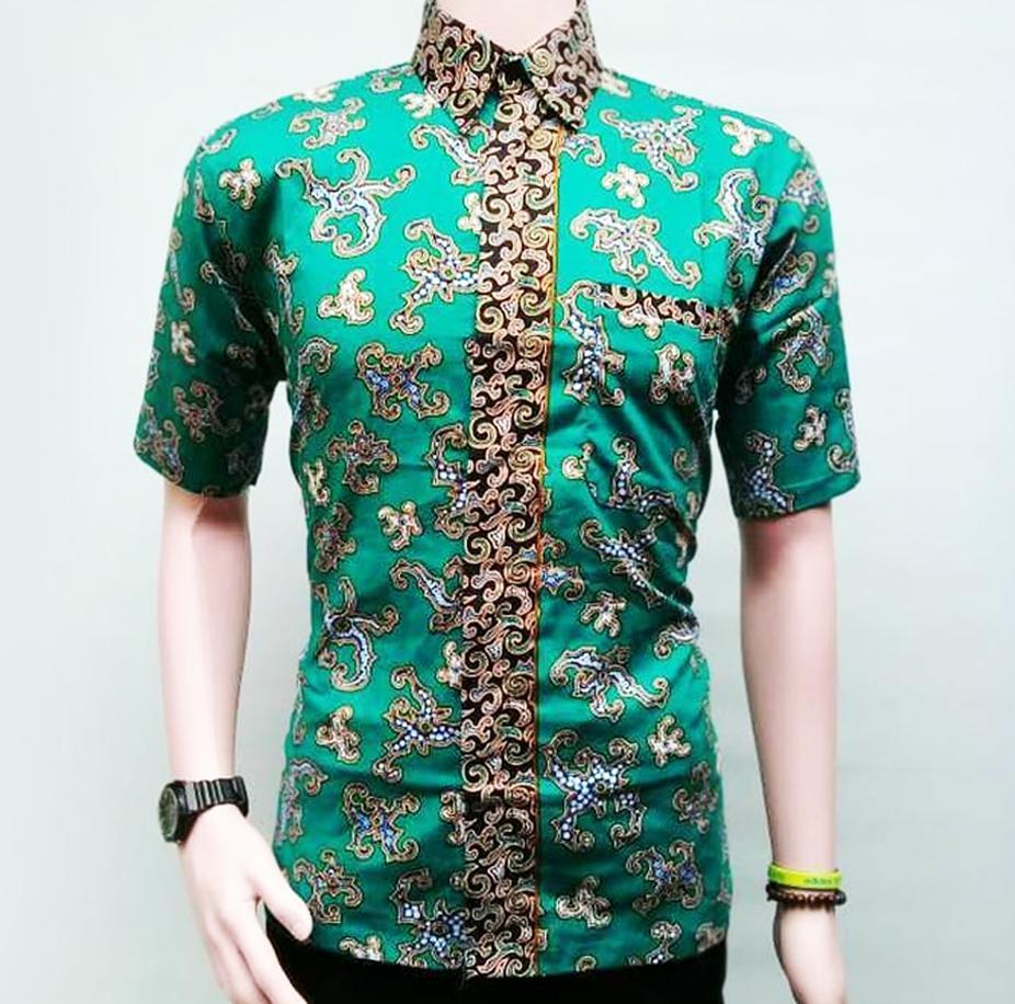 Kemeja Batik Pria Terbaik Terbaru Tangan Pendek Motif Premium 20 Pekalongan Hem Modern Lengan