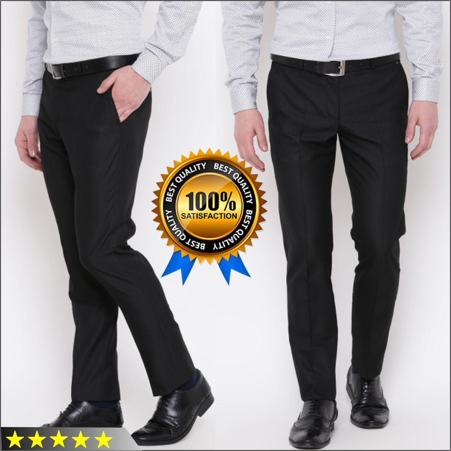 Celana Chino Formal Kasual Pria Panjang Jeans Street Slim Fit Bahan Kantoran Masa Kini Murah