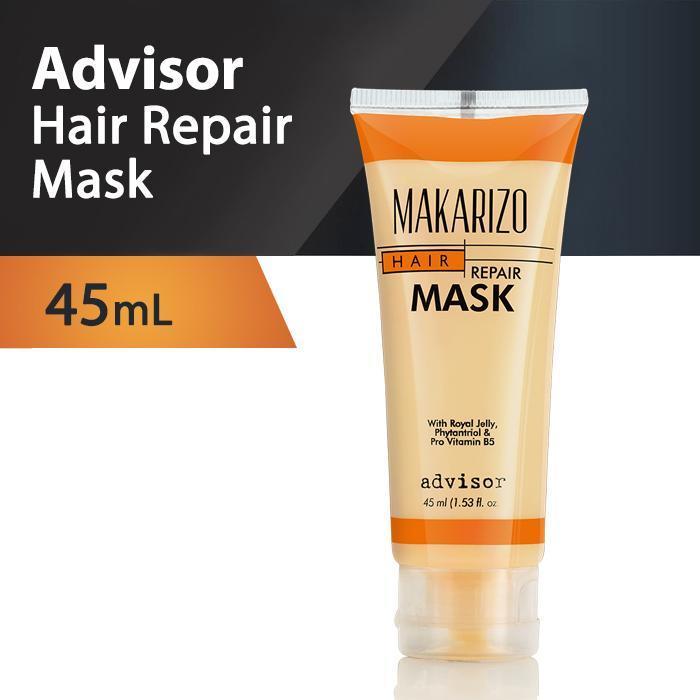 Makarizo Hair Mask Repair Masker Rambut Tube 45ml - Advisor