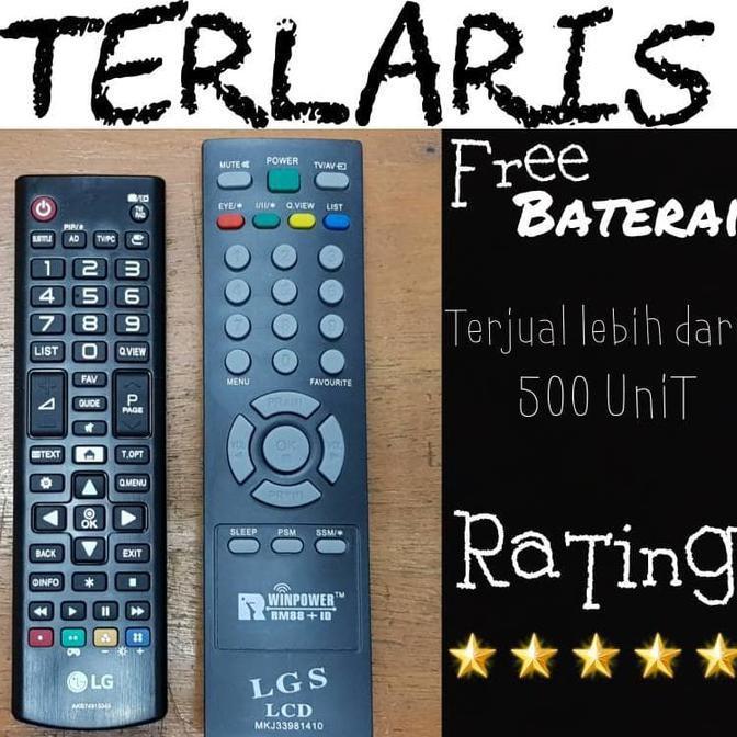 DISKON! Remot / Remote TV LG Tabung / Flat / Slim Fit / LCD / LED /PLASMA