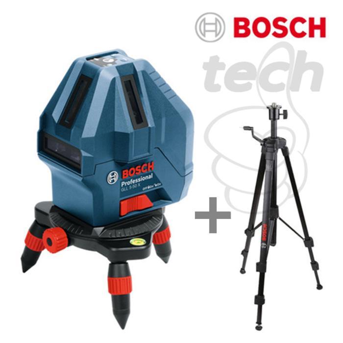 Promo   Laser Level Mini Bosch GLL 5-50 X Professional + Tripod 5/8