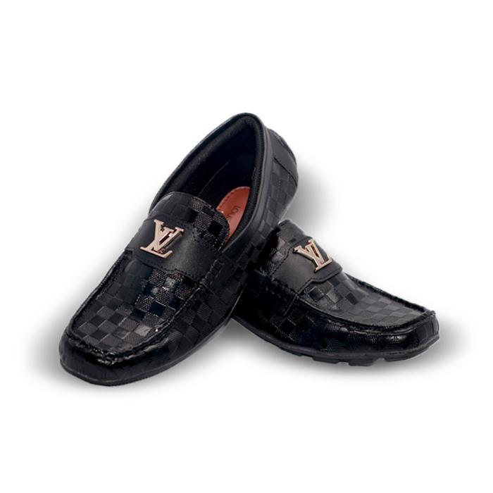 Sepatu LV Casual Pria Louis Vuitton Loafer Slop Slipon Formal Lv (LOKAL)