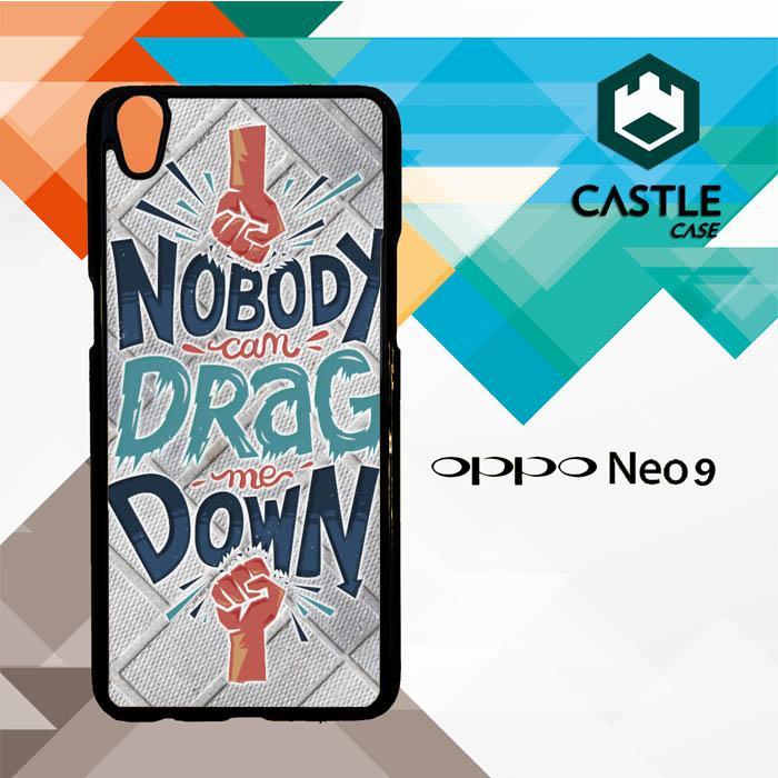 Drag Me Down Lyrics X2556 OPPO A37/NEO 9 Custom Case Cover
