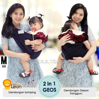 Harga Preferensial Baby Leon Gendongan Kaos 100 Cotton 2 In 1