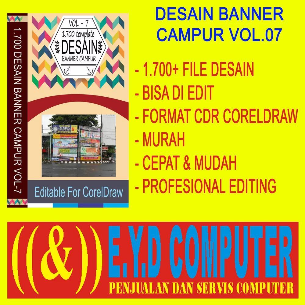 Desain Spanduk:  Desain X Banner Percetakan Cdr
