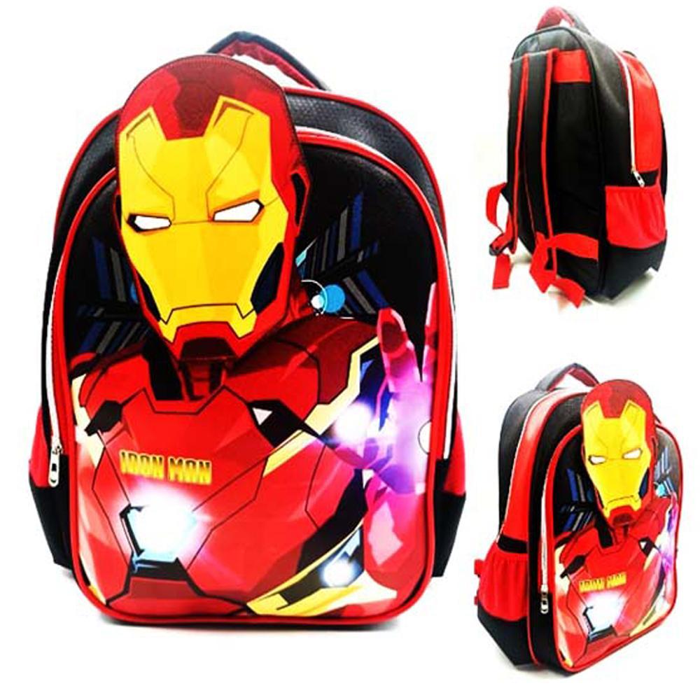 Spesifikasi dari BGC Tas Ransel Sekolah Anak SD BANGKOK Avenger Iron Man IMPORT