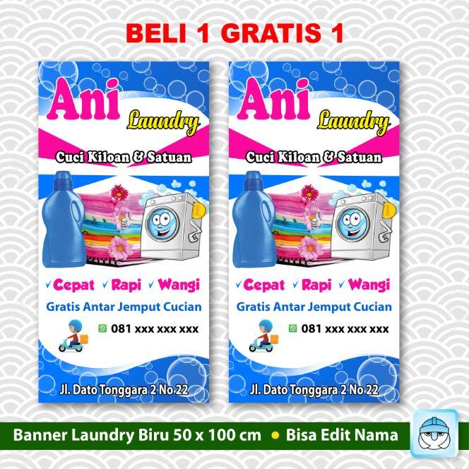 Jual Spanduk Laundry Terbaru Lazada Co Id