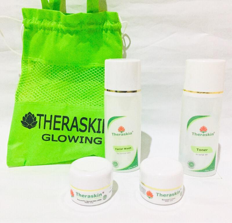 Paket Theraskin Glowing Cream