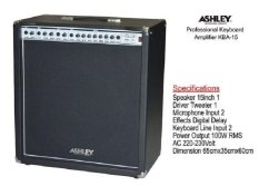 Ampli Keyboard Ashley Kba-15 Combo (Speaker 15In)