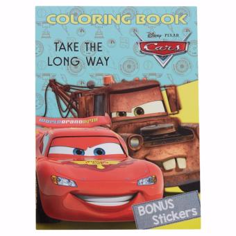 Cars Coloring Book Large Take The Long Way