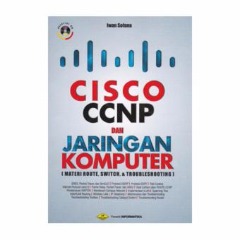 Cisco CCNP dan Jaringan Komputer Bonus CD