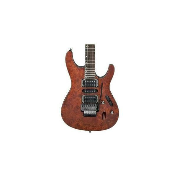 Jual Beli Electric Guitar Ibanez S770PB CNF (Charcoal Brown Flat ...